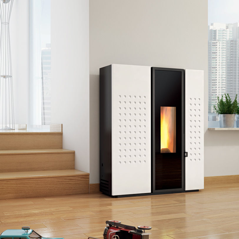 Stufe a Pellet ad aria calda ventilata PLACE A 6kW 9kW